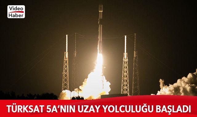 Türksat 5A'nın uzay yolculuğu başladı