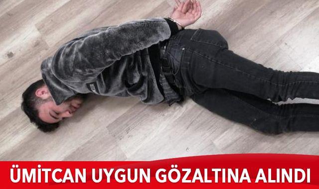 Ümitcan Uygun gözaltına alındı