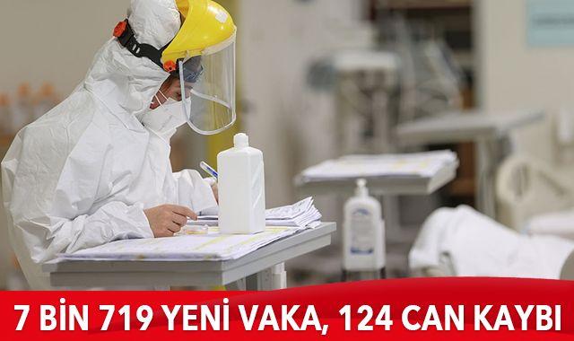 1 Şubat 2021 koronavirüs tablosu: 7 bin 719 yeni vaka, 124 can kaybı