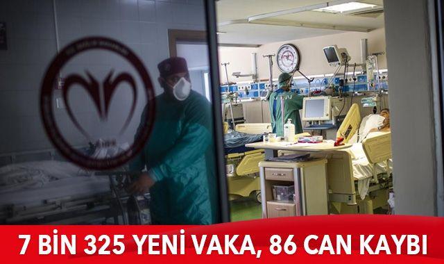 17 Şubat 2021 koronavirüs tablosu: 7 bin 325 yeni vaka, 86 can kaybı