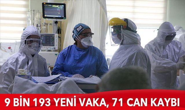 27 Şubat 2021 koronavirüs tablosu: 9 bin 193 yeni vaka, 71 can kaybı