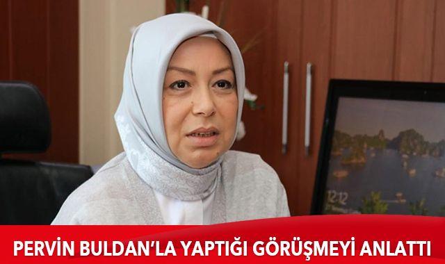 AK Partili Öznur Çalık, Pervin Buldan'la yaptığı görüşmeyi anlattı