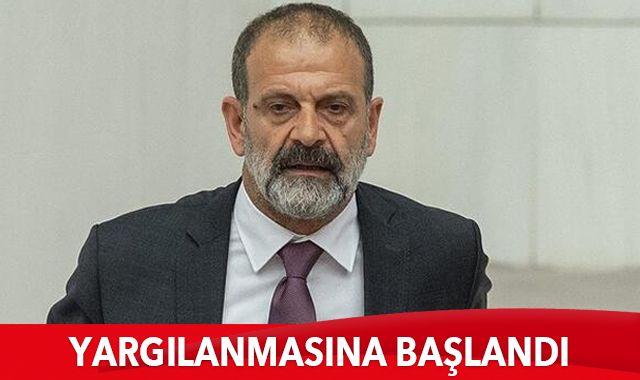 """Bağımsız Milletvekili Tuma Çelik'in """"nitelikli cinsel saldırı"""" suçundan yargılanmasına başlandı"""