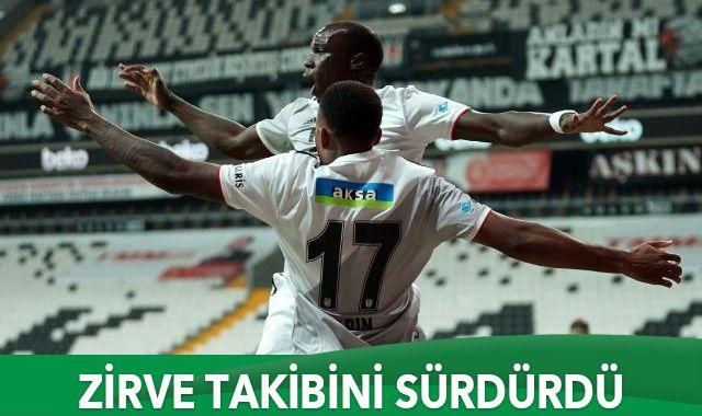 Beşiktaş sahasında 3 puanı 3 golle aldı