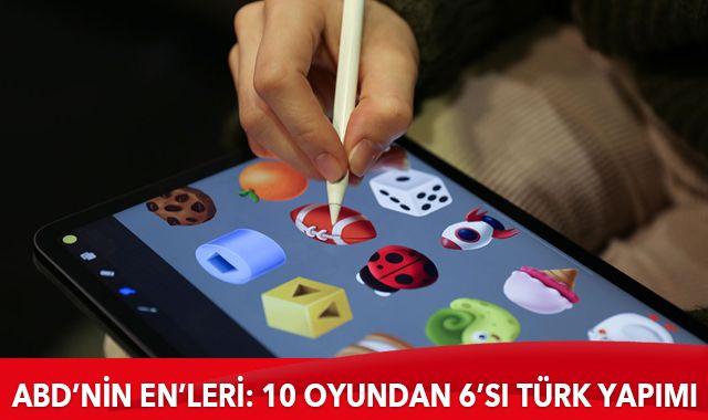 ABD'de en çok indirilen 10 oyundan 6'sı Türk