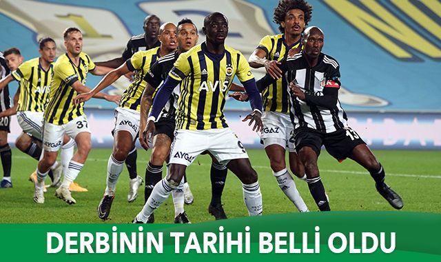 Beşiktaş-Fenerbahçe derbisi 21 Mart'ta
