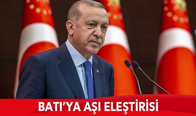 Cumhurbaşkanı Erdoğan: Aşıya adil erişim güvence altına alınmalı