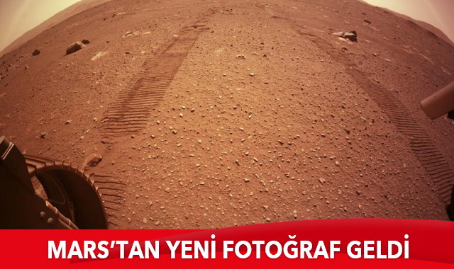 NASA, Mars'tan yeni fotoğraf paylaştı