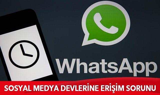 WhatsApp ve Instagram'da yaşanan kesintilerin global çapta ve yurt dışı kaynaklı olduğu açıklandı