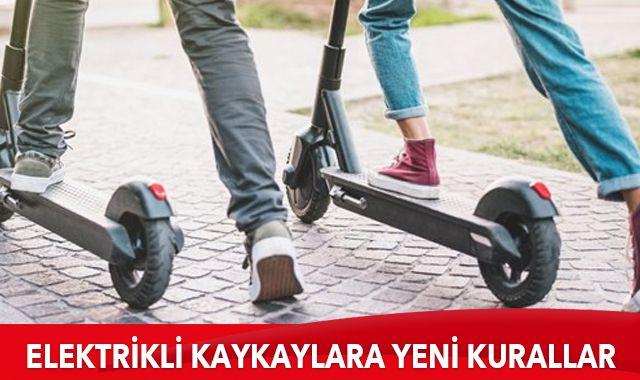 """""""Elektrikli Kaykay Yönetmeliği"""" Resmi Gazete'de"""