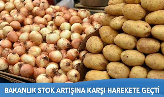 Bakan Pakdemirli: Patates ve kuru soğan alımına başlıyoruz