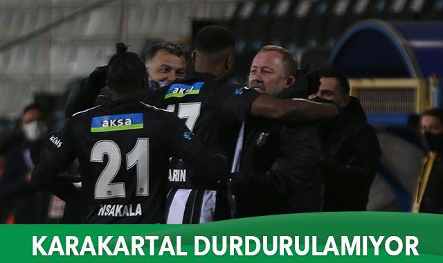Lider Beşiktaş deplasmanda kazandı