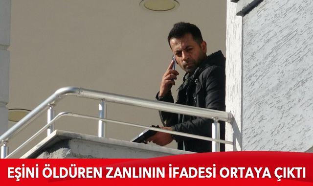 Bursa'da eşini öldüren zanlının ifadesi ortaya çıktı