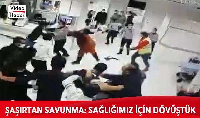 Hastanede terör estirdiler, savunmaları şoke etti