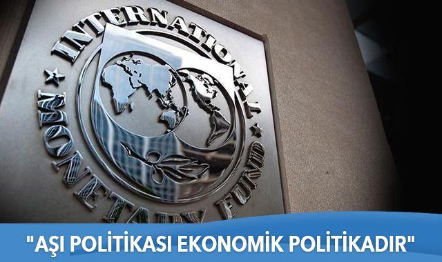 """IMF Başkanı Georgieva: """"Aşı politikası ekonomik politikadır"""""""