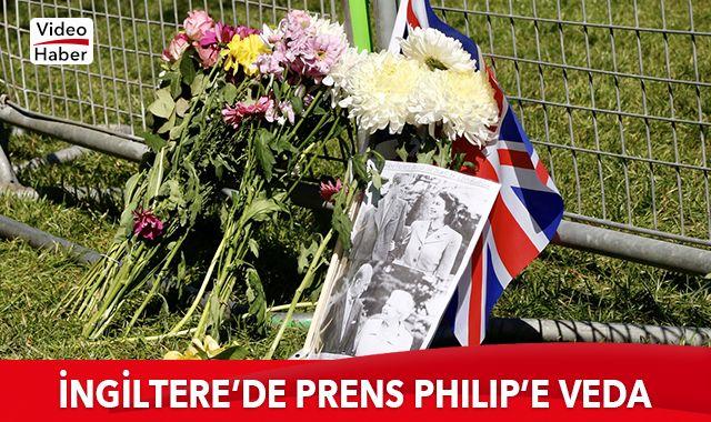 İngiltere'de Prens Philip'e veda