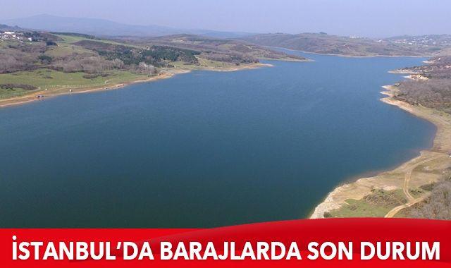 İstanbul'un baraj doluluk oranında son durum