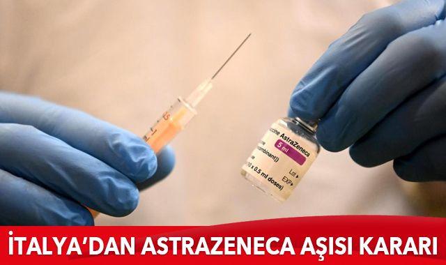İtalya'da AstraZeneca aşısı sadece 60 yaş üzerine yapılacak