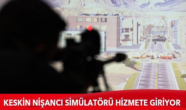 Keskin Nişancı Simülatörü hizmete giriyor