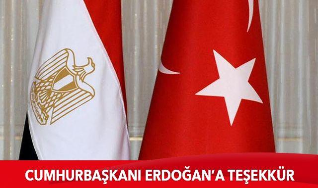 Mustafa Medbuli'den Cumhurbaşkanı Erdoğan'a teşekkür