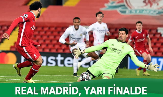 Real Madrid, yarı finalde