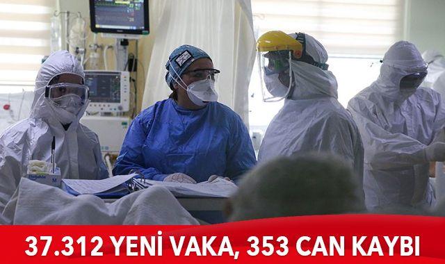 Son dakika: 26 Nisan 2021 koronavirüs tablosu: 353 can kaybı, 37312 yeni vaka