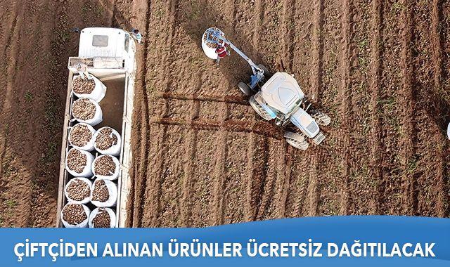 TMO'nun çiftçiden satın alacağı ürünler vatandaşa ücretsiz dağıtılacak