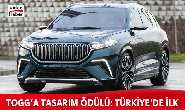 TOGG'a tasarım ödülü: Türkiye'de ilk