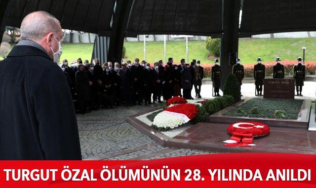 Turgut Özal ölümünün 28. yılında anıldı