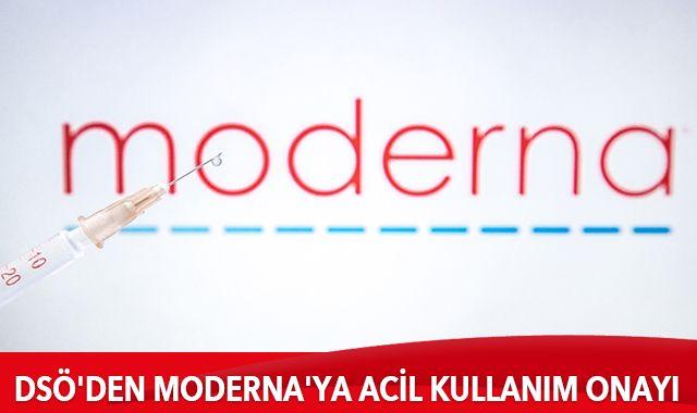 DSÖ'den Moderna'ya acil kullanım onayı