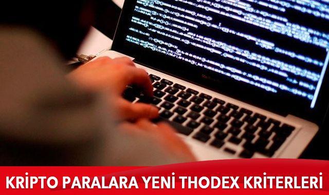 Kripto paralara yeni Thodex kriterleri