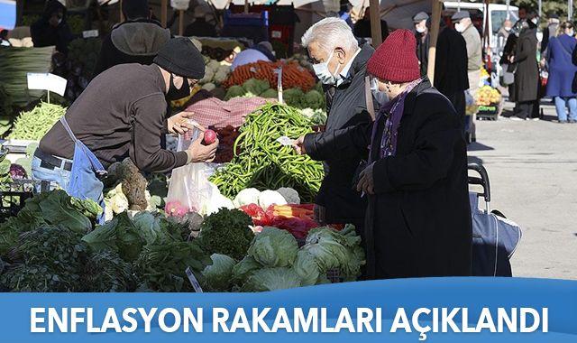 Son dakika: Nisan ayı enflasyon rakamları açıklandı
