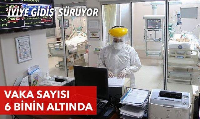 Türkiye'de son 24 saatte 5904 kişinin testi pozitif çıktı