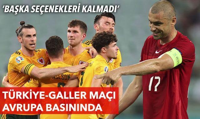 Türkiye-Galler maçının yankıları Avrupa basınında