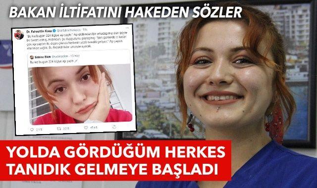 Türkiye'nin konuştuğu Sabire hemşire: Gördüğüm herkesin yüzü tanıdık geliyor