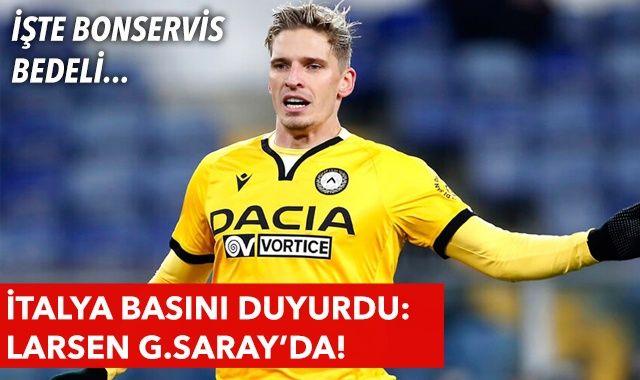 Stryger Larsen Galatasaray'da! İşte bonservis bedeli... Son dakika transfer haberleri