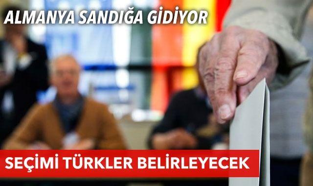 Almanya sandık başında! Seçimi Türkler belirleyecek