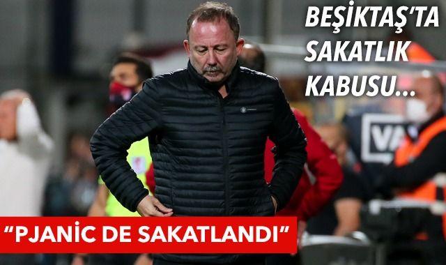 Beşiktaş Teknik Direktörü Sergen Yalçın: Pjanic de sakatlandı!