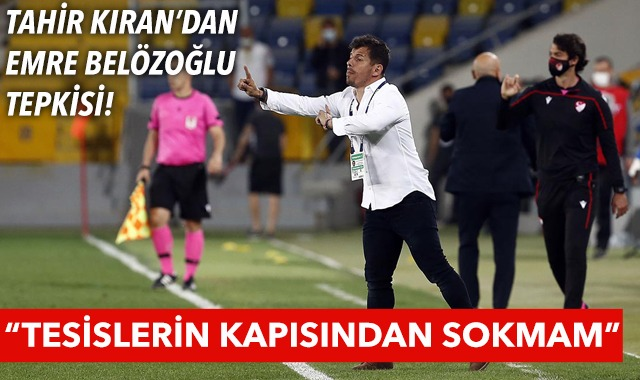 Çaykur Rizespor Başkanı Tahir Kıran'dan Emre Belözoğlu tepkisi!