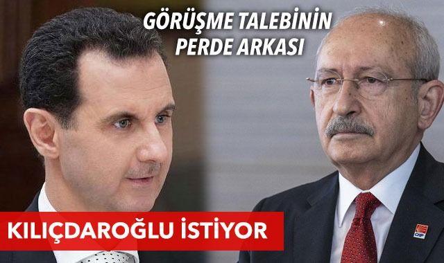 Esad'a gitmeyi Kılıçdaroğlu istiyor