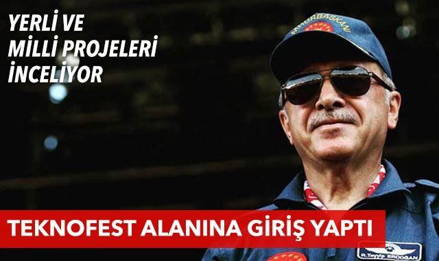 Son dakika: Cumhurbaşkanı Erdoğan TEKNOFEST'te konuşuyor