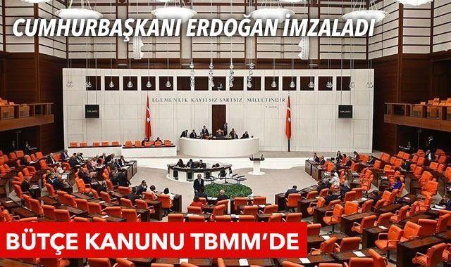 2022 bütçe kanun teklifi TBMM'de