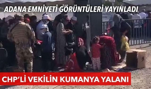 CHP'li Özkan'ın 'kumanya' yalanını Adana Emniyeti ortaya çıkardı