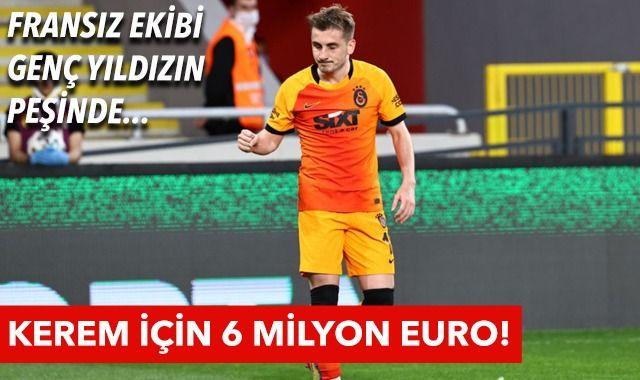Fransız ekibi Kerem Aktürkoğlu'nun peşinde! Galatasaray transfer haberleri