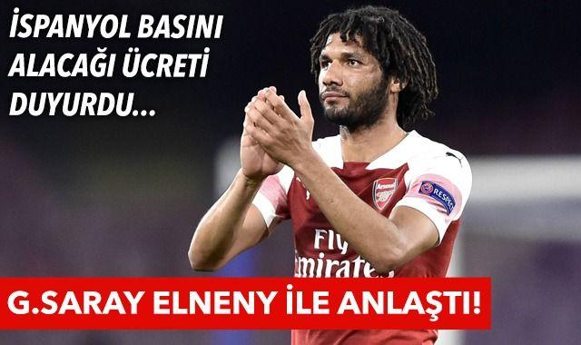 Galatasaray, Mohamed Elneny ile anlaştı! İşte alacağı ücret...