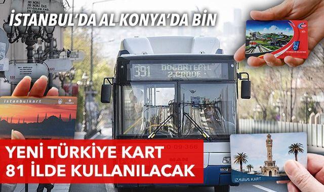 İstanbul'da al Konya'da bin! PTT'den yepyeni Türkiye Kart uygulaması
