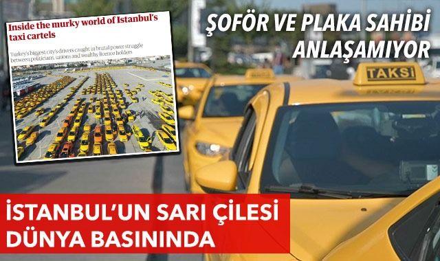 İstanbul'un taksi sorunu İngiliz medyasında