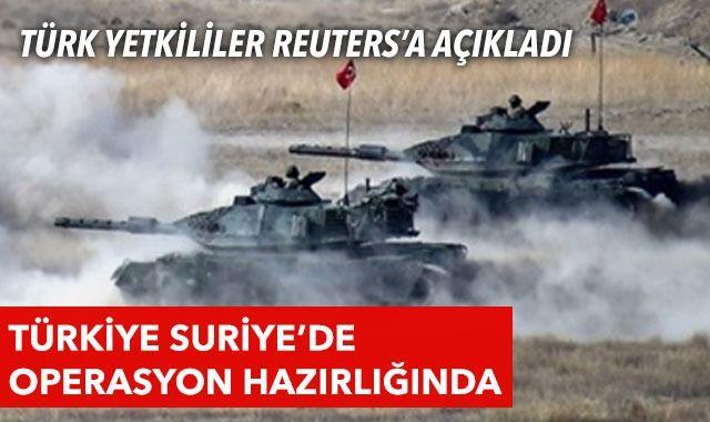 Reuters'tan Türkiye iddiası: Diplomasi başarılı olmazsa Suriye'de harekat yapabilir