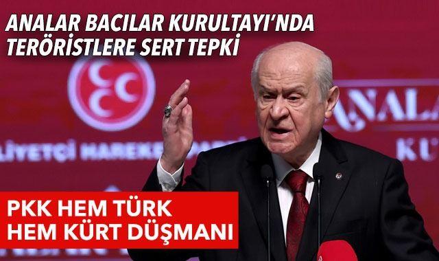 Son dakika! Bahçeli'den terör tepkisi: PKK hem Türk hem Kürt düşmanı