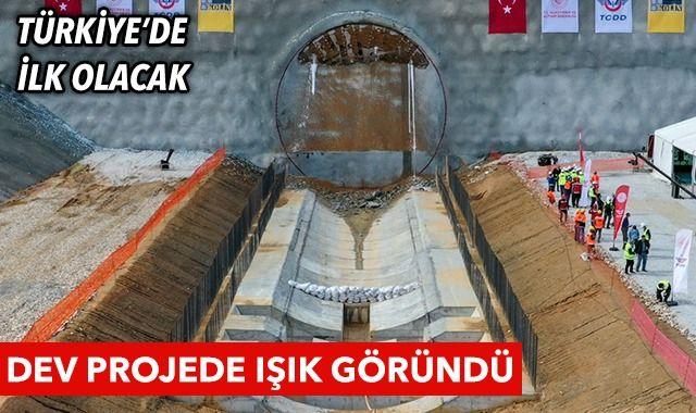 Türkiye'de ilk olacak! Dev projede ışık göründü